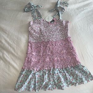 LoveshackFancy (Plus) Adeline smocked ruffle dress